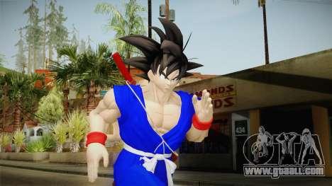 Goku Original DB Gi Blue v1 for GTA San Andreas