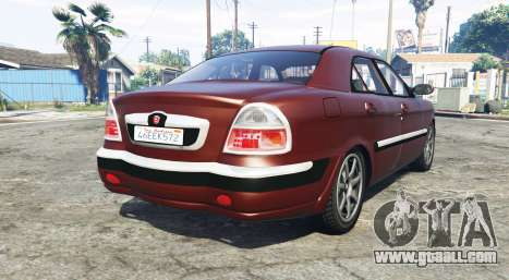 GTA 5 GAZ 3111 Volga [replace] rear left side view