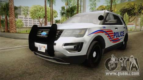 Ford Explorer 2016 Police for GTA San Andreas