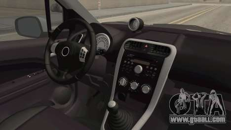 Opel Agila for GTA San Andreas inner view