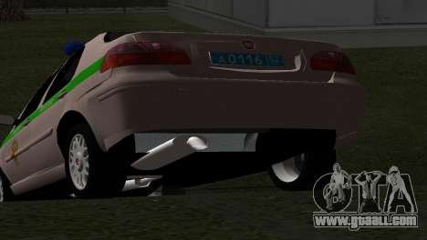 Fiat Albea FSIN for GTA San Andreas back view