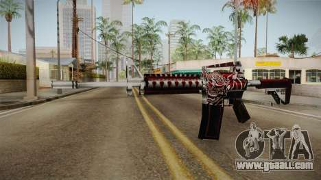 SFPH Playpark - Akuma M4A1 for GTA San Andreas