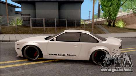 Nissan Silvia S14 Pandem for GTA San Andreas left view