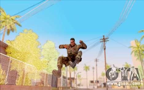 Zombie Degtyarev from S. T. A. L. K. E. R. for GTA San Andreas sixth screenshot