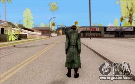 The male of S. T. A. L. K. E. R. for GTA San Andreas forth screenshot