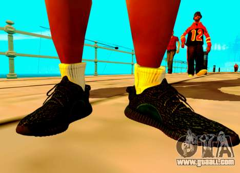 Adidas Yeezy Boost 350 Pack for GTA San Andreas third screenshot