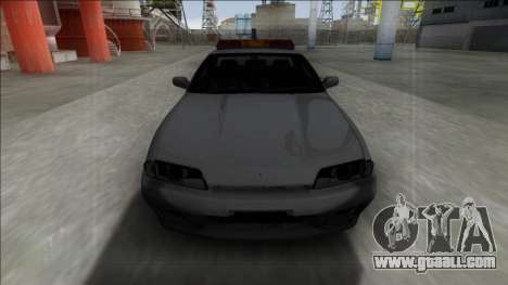 Nissan Skyline R32 Towtruck for GTA San Andreas back left view