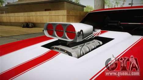 Chevrolet Chevelle SS 1970 vv1 for GTA San Andreas inner view