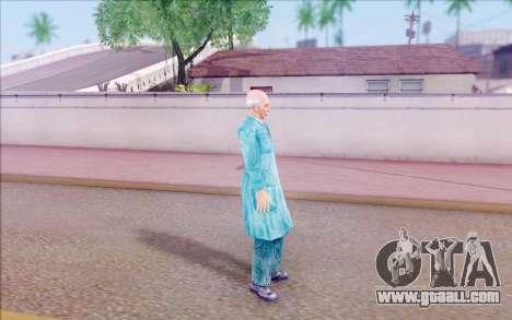 A scientist from S. T. A. L. K. E. R for GTA San Andreas forth screenshot