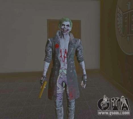 GTA 5 Joker from Injustice 2 second screenshot
