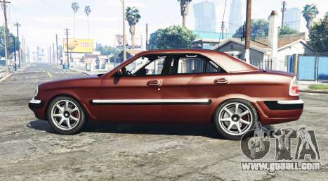 GTA 5 GAZ 3111 Volga [replace] left side view