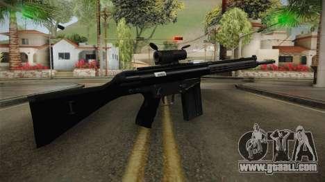 AK-4B Assault Rifle for GTA San Andreas third screenshot