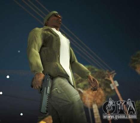 Black Edition Weapon Pack for GTA San Andreas sixth screenshot