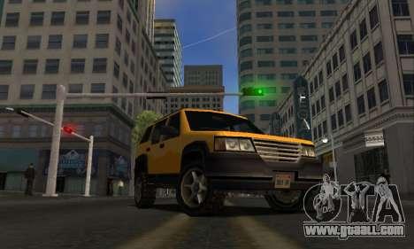 2002 Landstalker for GTA San Andreas back left view