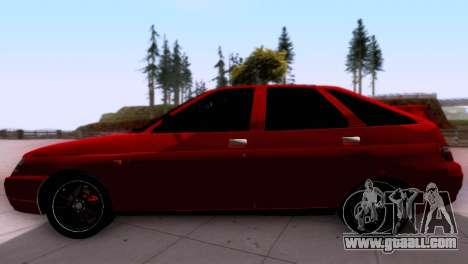 VAZ 2112 SA Plates for GTA San Andreas left view