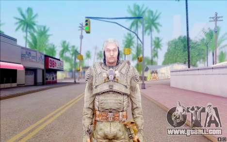Grey from S. T. A. L. K. E. R for GTA San Andreas