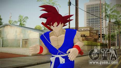 Goku Original DB Gi Blue v2 for GTA San Andreas