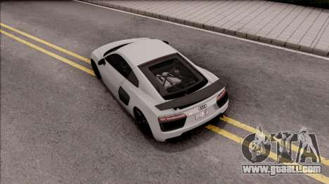 Audi R8 V10 Vorsteiner 2017 for GTA San Andreas back view