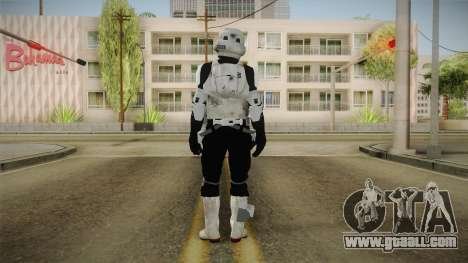 Star Wars Battlefront 3 - Scouttrooper DICE for GTA San Andreas third screenshot
