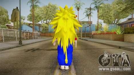 Goku Original DB Gi Blue v5 for GTA San Andreas third screenshot