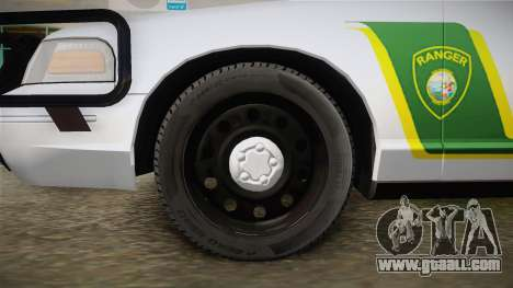 Ford Crown Victoria Police for GTA San Andreas back view