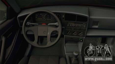 Volkswagen Passat B3 Variant Stanced for GTA San Andreas inner view