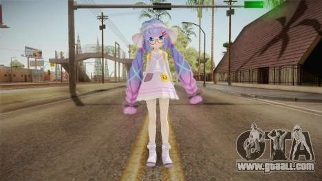 Otomachi School Skin for GTA San Andreas second screenshot