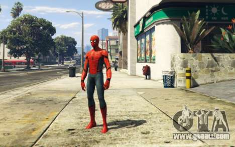 Spiderman [Add-On Ped] 2 2 for GTA 5