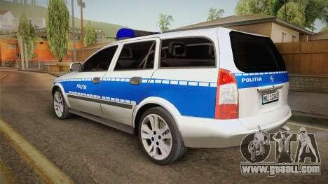 Opel Astra G Politia Romana for GTA San Andreas left view