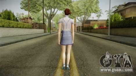 Jemma Skin for GTA San Andreas third screenshot