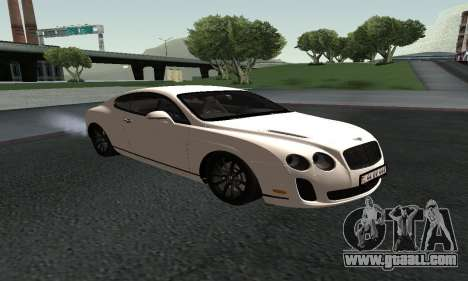 Bentley Continental GT Armenian for GTA San Andreas