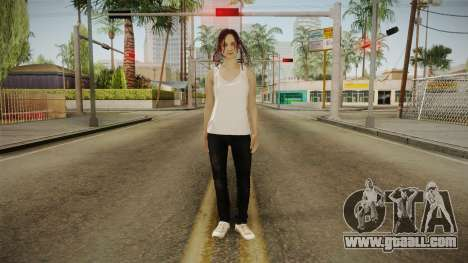 Resident Evil - Mia Winters for GTA San Andreas second screenshot