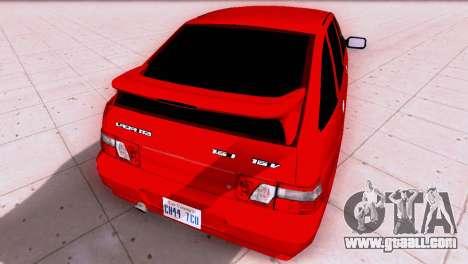 VAZ 2112 SA Plates for GTA San Andreas right view
