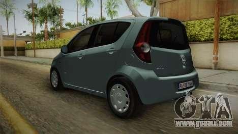 Opel Agila for GTA San Andreas right view