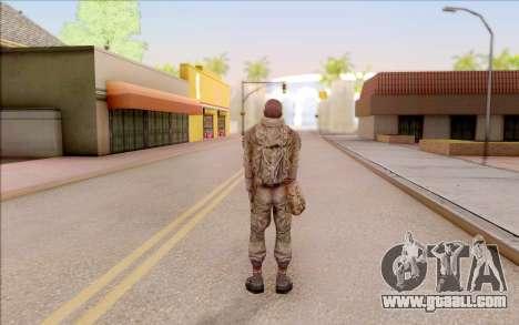 Mole of S. T. A. L. K. E. R. for GTA San Andreas fifth screenshot