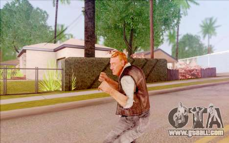 Toad of S. T. A. L. K. E. R. for GTA San Andreas fifth screenshot