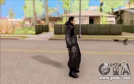 Captain Sobolev of S. T. A. L. K. E. R. for GTA San Andreas third screenshot