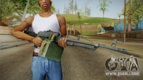 Battlefield 4 - PKP Light Machine Gun for GTA San Andreas