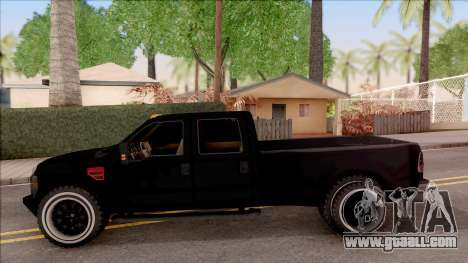 Ford F-350 Super Duty Low Style for GTA San Andreas left view