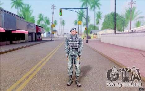 Nabors member of S. T. A. L. K. E. R for GTA San Andreas second screenshot