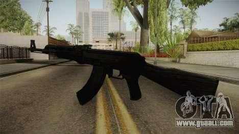 Black AK-47 for GTA San Andreas second screenshot