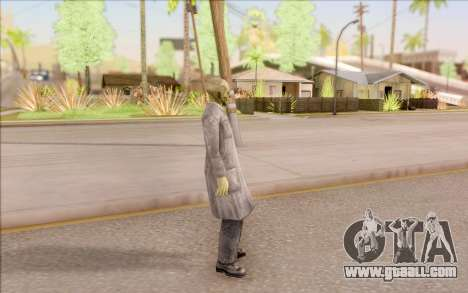 Zombie scientist from S. T. A. L. K. E. R. for GTA San Andreas third screenshot