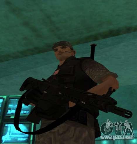 M4 by Freddy Dillard for GTA San Andreas second screenshot