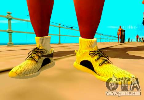 Adidas Yeezy Boost 350 Pack for GTA San Andreas forth screenshot