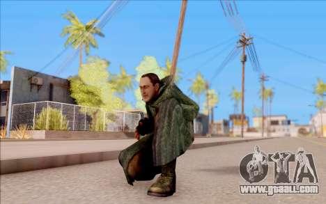 The male of S. T. A. L. K. E. R. for GTA San Andreas sixth screenshot