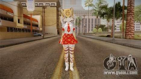 Kemono Friends - Tiger for GTA San Andreas second screenshot