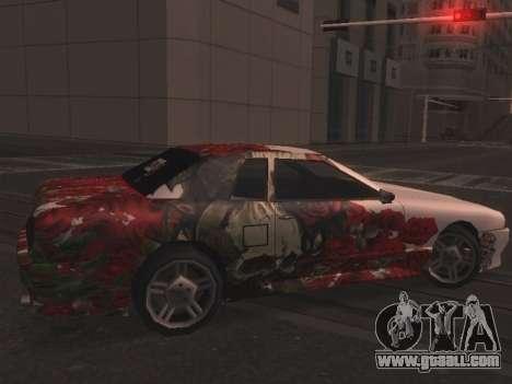 New Elegy Paintjob for GTA San Andreas left view