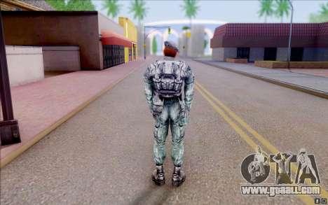 Nabors member of S. T. A. L. K. E. R for GTA San Andreas forth screenshot