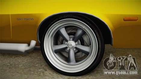 Ford Gran Torino 1975 v1 for GTA San Andreas back view