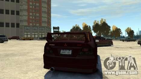 Mitsubishi Galant 8 VR-4 for GTA 4 right view